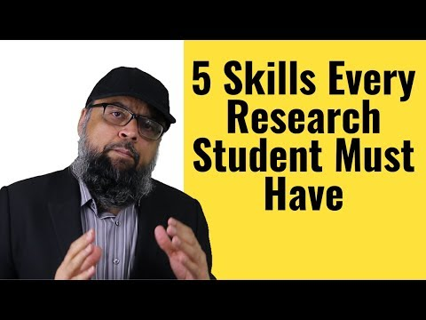 , title : '5 Skills Every Research Student Must Have to Succeed