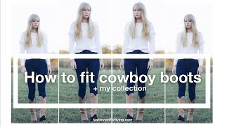 How To Size And Fit Cowboy Boots