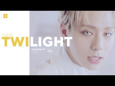 ONEUS - Twilight Line Distribution (Color Coded)