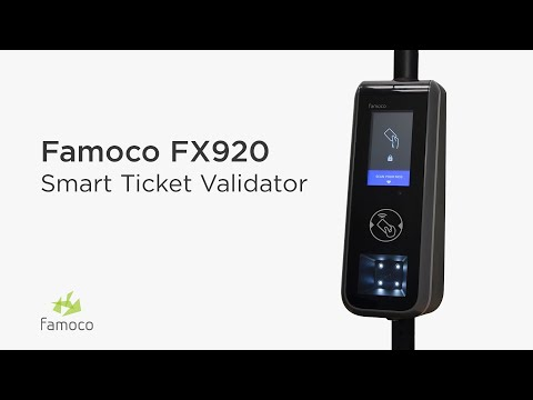 FX920: Android Multi-ticketing Validator for Transportation Industry