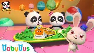 Permen Ajaib | Kumpulan Film Bayi Panda Ajaib | Lagu Anak-anak | Bahasa Indonesia | BabyBus