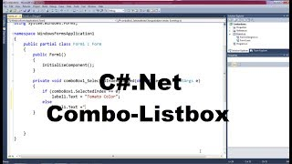 C#.Net Programming Language For Beginners - Part 9