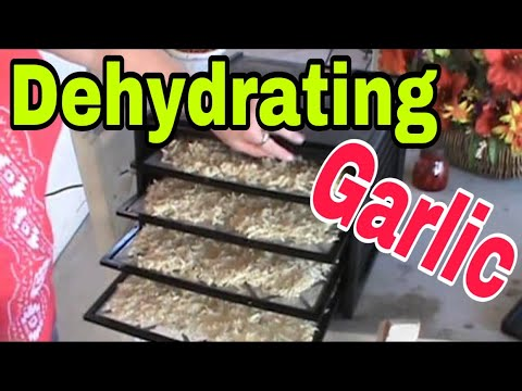 , title : 'Dehydrating Garlic is easy to do!