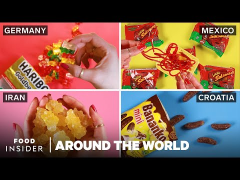What Does Candy Look and Taste Like Around the World?