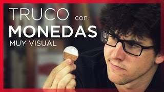 Truco Con Monedas MUY VISUAL - Cambio De Moneda Plata-Cobre