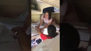 Японка в плацкартном вагоне