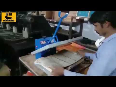 Handpress Scruber Packing Machine