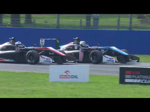 Euroformula Open 2019 Round 9 MONZA - RACE 1 Highlights ENG