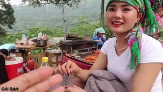 """Chợ Tình (T4)  Làm quen em gái dân tộc Dao xinh nhất nhì """" Chợ Tình Khâu Vai 2019""""  GÁI BẢN"""