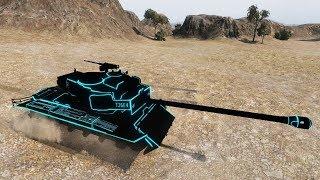 World of Tanks T26E4 SuperPershing (Tron skin) 2.218 EXP !!! 6.626 DMG 9 kills - El Halluf