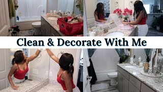 💎 GUEST BATHROOM MAKEOVER | CLEAN AND DECORATE WITH ME 2020 💎