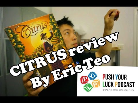 Push Your Luck Video #23: Citrus