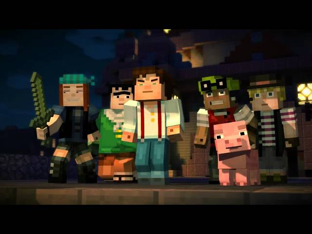 Minecraft Story Mode - Tráiler Minecon 2015