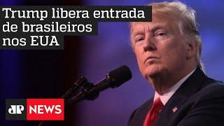 Mesmo com decisão de Trump, brasileiros não poderão entrar nos EUA, explica especialista