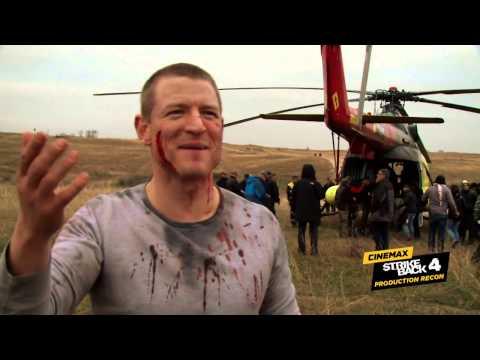 Strike Back Season 4: Production Recon #4 – Helicopter Evacuation (Cinemax)