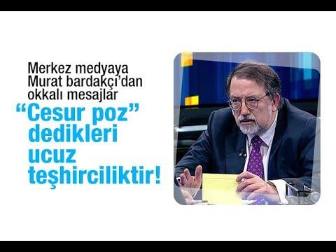 """Murat Bardakçı  """"Cesur poz"""" dedikleri  ucuz teşhirciliktir!"""