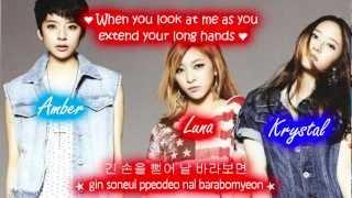 F(x) Beautiful Stranger [Eng Sub + Romanization + Hangul] High Quality Mp3