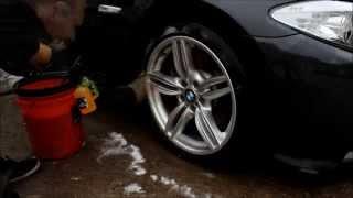 Spotless Detailing BMW 530D Gtechniq Silver Detail