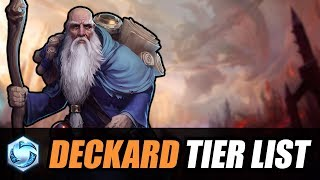 Deckard patch - Tier List // Heroes of the Storm