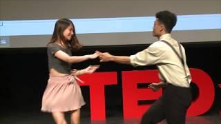 Lindy Hop - Follow to lead | Swing Dance Hanoi | TEDxHanoi