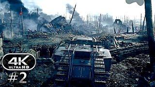 Battlefield 1 4K Gameplay Walkthrough Part 2 - BF1 Campaign 4K 60fps