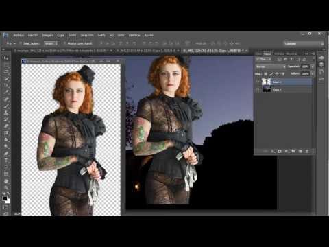 Unificar el tono de 2 imagenes para un montaje