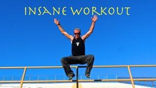 Insane Fat Burning Workout - Cardio Workout! by Kung Fu & Tai Chi Center w/ Jake Mace