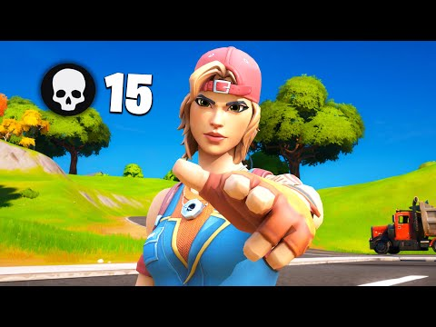 Fortnite Chapter 2 - Getting 15 KILLS In High Point Arena Games