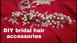 DIY Bridal Hair Accessories