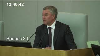 Пленарное заседание Государственной Думы 22.05.2018 (12.30 - 15.00) ( Госдума )