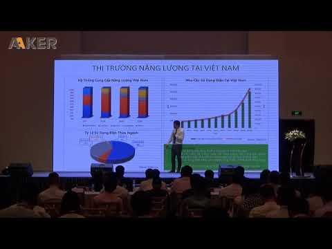 Hội thảo 3 DIỄN ĐÀN CÔNG NGHỆ VÀ NĂNG LƯỢNG VIỆT NAM NĂM 2019 - Ông Nguyễn Hồ Nam