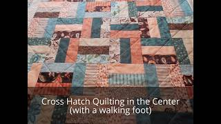 Easy Quilting: Rail Fence Baby Quilt!