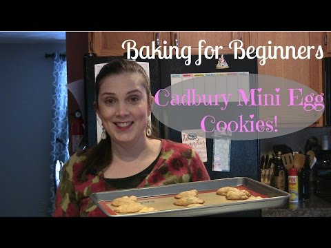Baking for Beginners # 8 – DIY Easter Cadbury Mini Egg Cookies