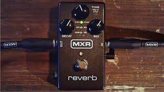 Mxr M300 Reverb - Video
