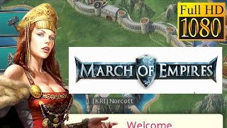 March Of Empires Game Review 1080P Official Gameloft Strategy 2016