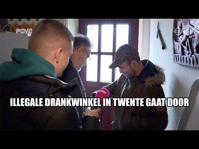 Illegale drankwinkel in Twente gaat door