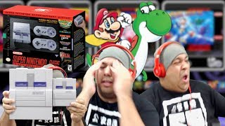 THIS MADE ME HAVE AN EMOTIONAL BREAKDOWN MAH BOYS!! [SUPER NINTENDO MINI] [GAMEPLAY]