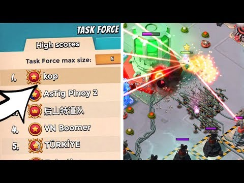 I'M IN THE #1 TASK FORCE!! Boom Beach Operation Gameplay!