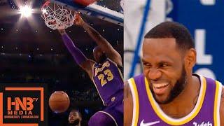 LeBron James - 33 pts Highlights vs Knicks | March 17, 2018-19 NBA Season