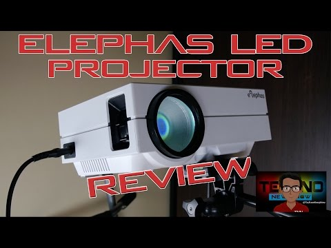 ELEPHAS EPR-60 LED Projector Unboxing and Review | The Cheapest 130