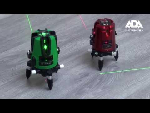Лазерный нивелир ADA Instruments 3D Liner 2V Green (А00532)