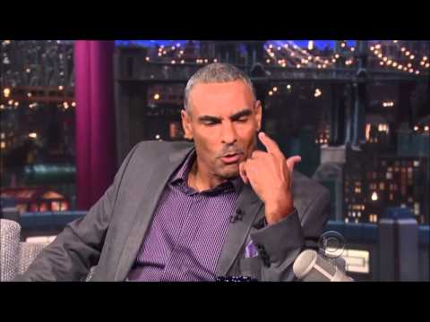 Herm Edwards interview on David Letterman HD   4 September, 2013