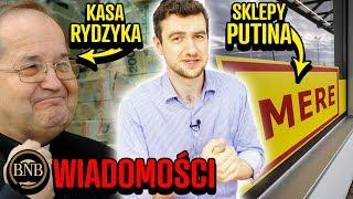 Ile Rydzyk dostaje od rządu, rosyjskie sklepy w Polsce, polski sposób na raka | WIADOMOŚCI