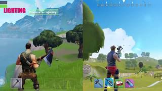 FORTNITE MOBILE VS FORTCRAFT Сравнение графики и Gameplay iOS|Android