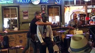 Birdlegg live blues jam Gruene Dance Hall 08/04/18