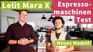 Lelit Mara X - Espressomaschinen Test | Preis-Leistung top!