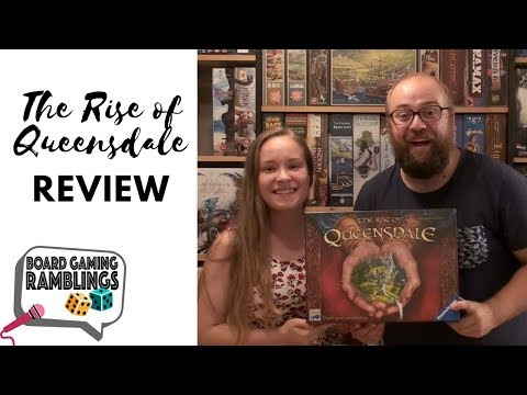 Board Gaming Ramblings: The Rise of Queensdale Review