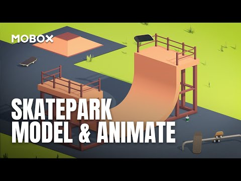 Skate Park Modeling & Animation – Cinema 4D Tutorial
