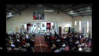 """Misa del 30 de Septiembre , Padre Pepe: """" Francisco pide rezar el Rosario """" ..."""