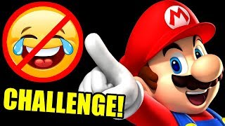 Super Mario TRY NOT TO LAUGH CHALLENGE! (Funniest Moments)